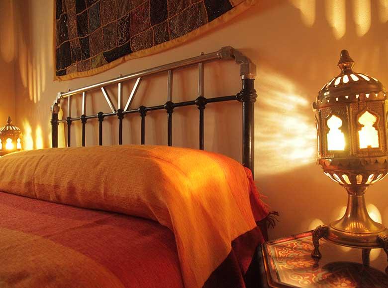 cabecero cama matrimonio - Casa rural El Canjilón - Montefrio