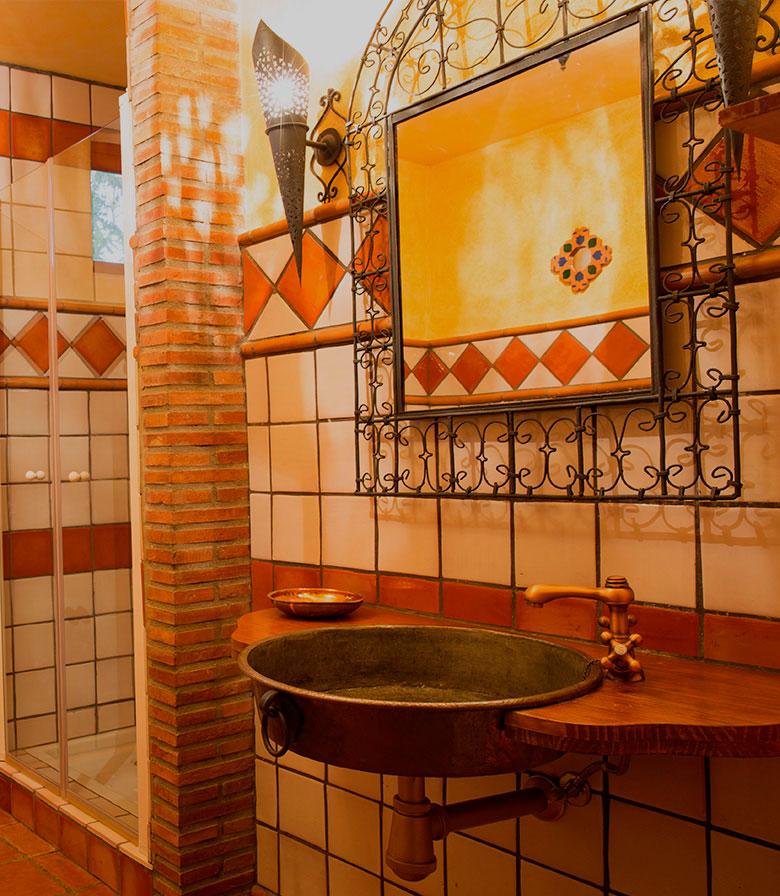 lavabo - Casa rural El Canjilón - Montefrio