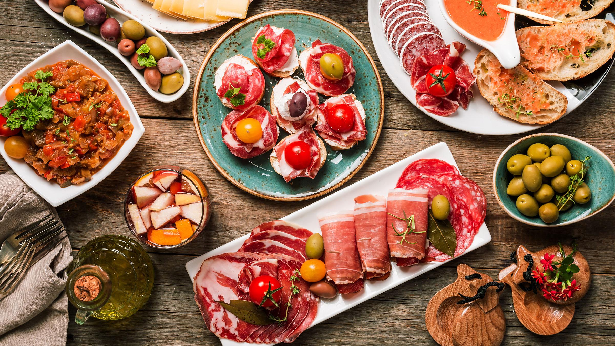 los-ingredientes-basicos-de-la-gastronomia-espanola