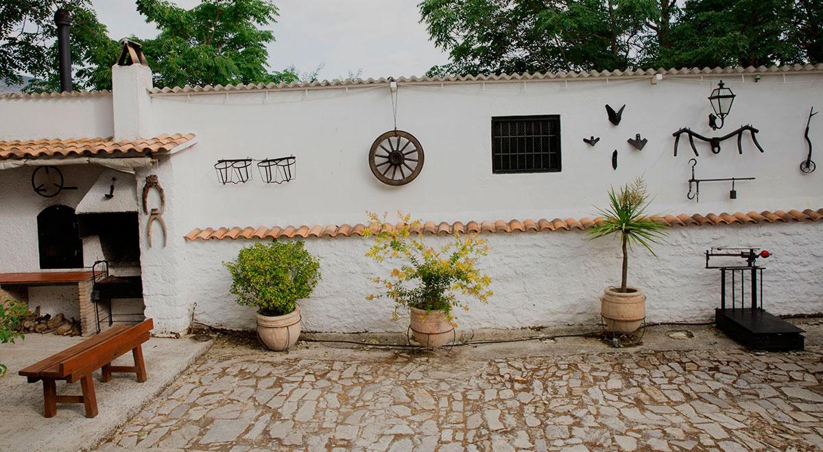 patio - Casa rural El Canjilón - Montefrio