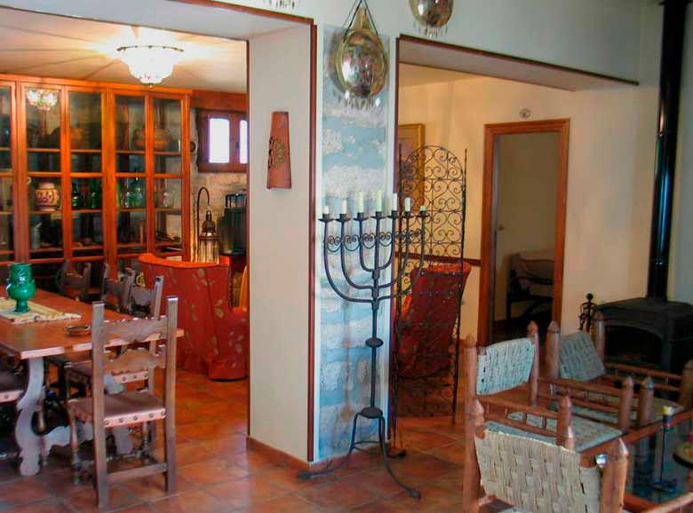 Salon - comedor - Casa rural El Canjilón - Montefrio