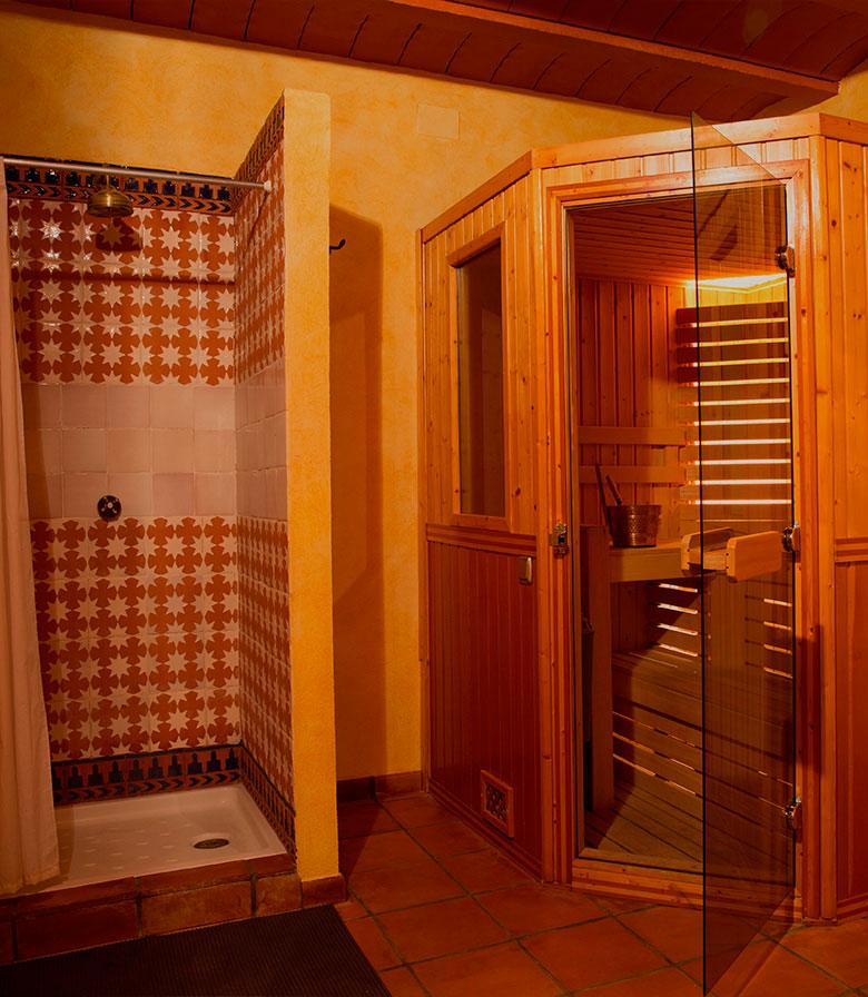 cuarto de baño - Casa rural El Canjilón - Montefrio
